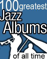 100 greatest  jazz albums logo